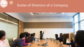 Directors Duties Under Section 166 of the Companies Act 2013