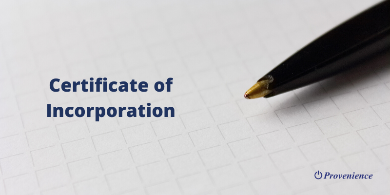 Importance of Certificate of Incorporation