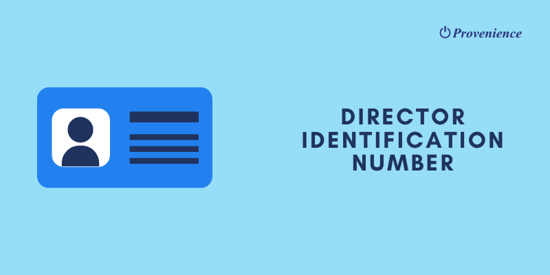 Director Identification Number Application, Modification, Surrender Methods