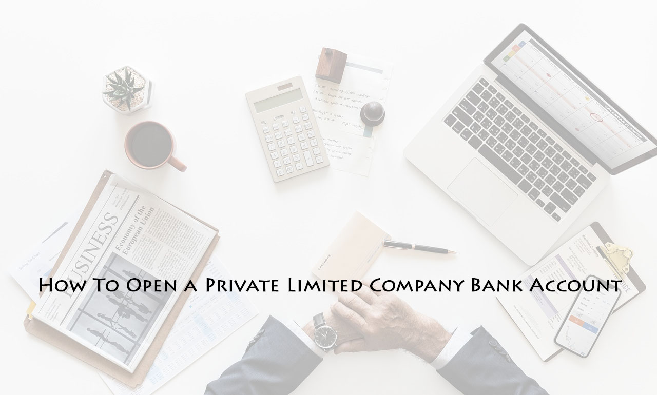 private limited company bank account