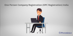 One Person Company Registration (OPC Registration) India