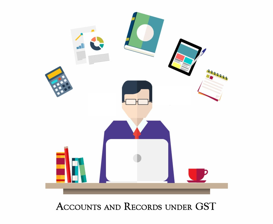accounts and records under GST