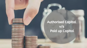 Comparison Between Authorised and Paid up Capital
