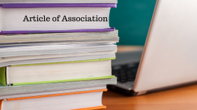 Article of Association Under Section 5 of the Companies Act, 2013