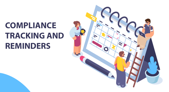 COMPLIANCE TRACKING AND REMINDERS