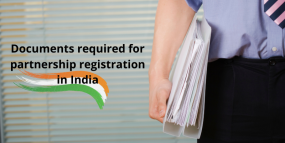 Documents required for partnership registration in India