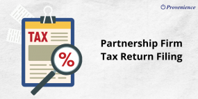 Partnership Firm Tax Return Filing