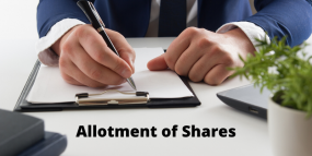 Private Limited Company Share Allotment
